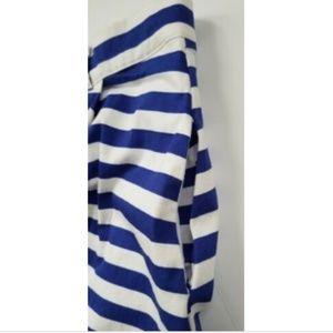 Modcloth Skirts - ModCloth women's XL blue/white striped skirt